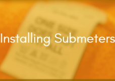 Submetering Specification Part 2: Installation