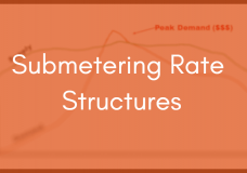 Submetering Specification Part 3: Rate Structures