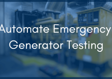 Automate Your Emergency Generator Testing to Meet Joint Commission Standards