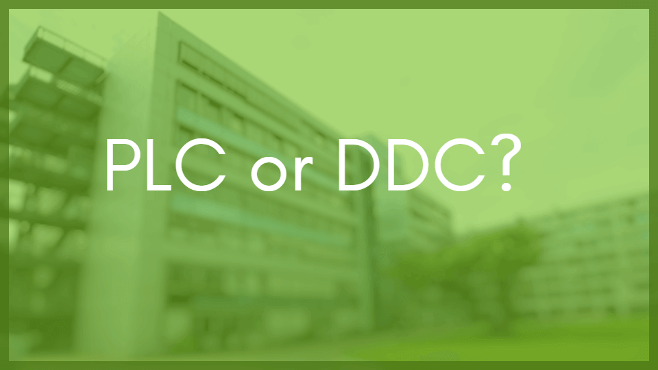 Why Medical Campus Central Utility Plants Should Use PLC<br>Not DDC Controls