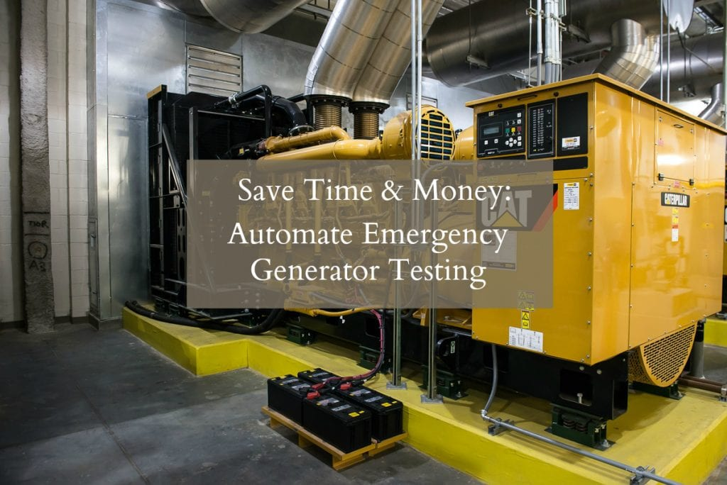 Emergency Generator Testing
