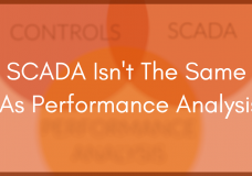 SCADA Is Not The Same As Solar Data Performance Analysis