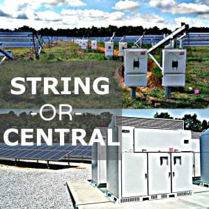 string inverter central inverter
