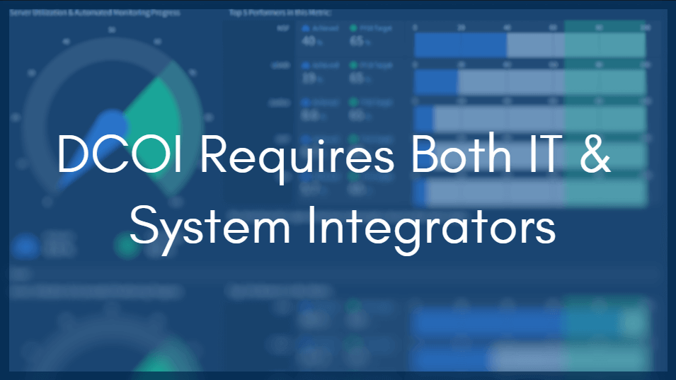 Together, IT and Facility System Integration Can Master DCOI