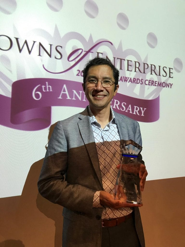 Affinity Energy Wins Charlotte Crowns of Enterprise, MBE of the Year Award