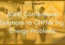 ASHE Conference: Solutions to CHFMs Big Energy Problems