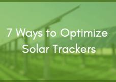 Webinar: 7 Unique Ways to Optimize Solar Trackers