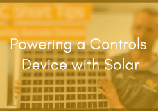 Powering Remote I/O Using Solar Modules and Batteries