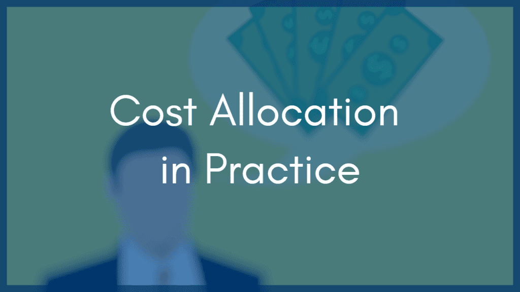 Energy Cost Allocation for Industrial Facilities