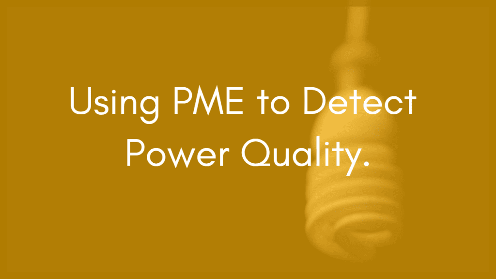 Detecting Power Quality Events in Industrial Facilities