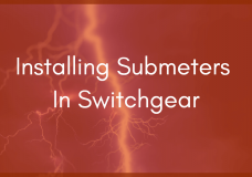 Should You Put an Electric Submeter Inside Switchgear?