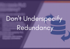 What Owners Should Know About High Availability and Redundancy